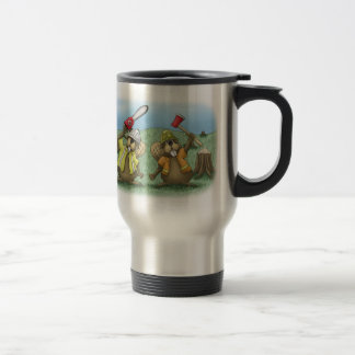 Funny Coffee Mugs: Working Smarter Travel Mug