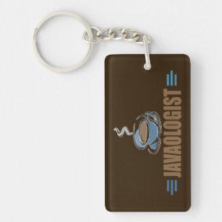 Funny Coffee Single-Sided Rectangular Acrylic Keychain