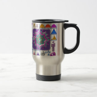 FUNNY Color Cartoons PURPLE Show :lowprice GIFTS 15 Oz Stainless Steel Travel Mug