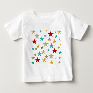 Funny, colorful stars baby T-Shirt