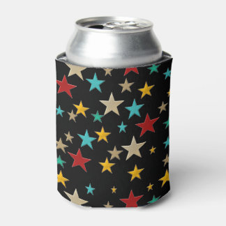 Funny, colorful stars can cooler