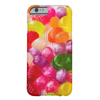 Funny Colorful Sweet Candies Food Lollipop Photo Barely There iPhone 6 Case