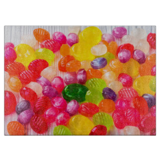 Funny Colorful Sweet Candies Food Lollipop Photo Boards
