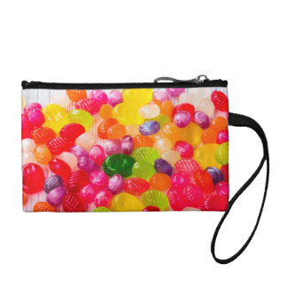 Funny Colorful Sweet Candies Food Lollipop Photo Coin Purse