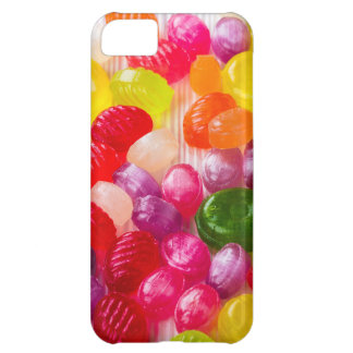 Funny Colorful Sweet Candies Food Lollipop Photo Cover For iPhone 5C