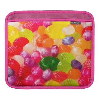 Funny Colorful Sweet Candies Food Lollipop Photo iPad Sleeve