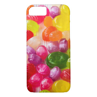 Funny Colorful Sweet Candies Food Lollipop Photo iPhone 8/7 Case