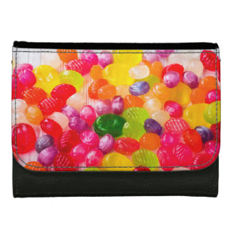 Funny Colorful Sweet Candies Food Lollipop Photo Women's Wallet