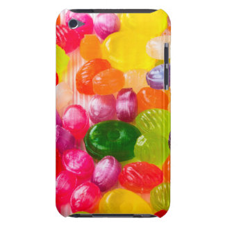 Funny Colorful Sweet Candies Food Lollipop Picture Barely There iPod Case