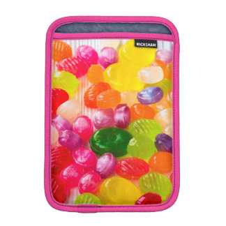 Funny Colorful Sweet Candies Food Lollipop Picture iPad Mini Sleeve