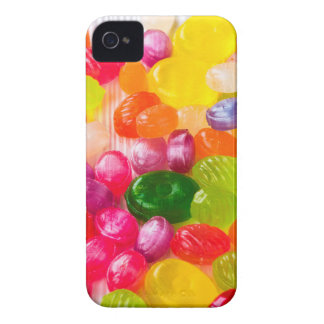 Funny Colorful Sweet Candies Food Lollipop Picture iPhone 4 Cases