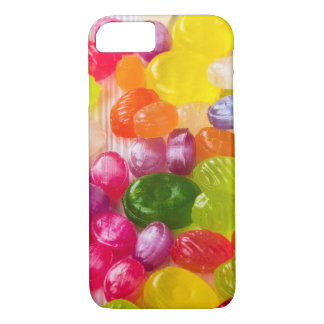 Funny Colorful Sweet Candies Food Lollipop Picture iPhone 8/7 Case
