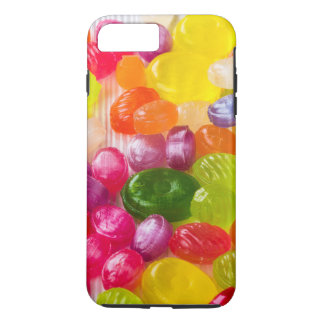 Funny Colorful Sweet Candies Food Lollipop Picture iPhone 8 Plus/7 Plus Case