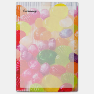 Funny Colorful Sweet Candies Food Lollipop Picture Post-it Notes