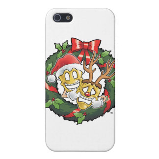 Funny Comedy & Tragedy Christmas Masks iPhone 5 Cover