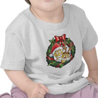 Funny Comedy & Tragedy Christmas Masks Tshirts