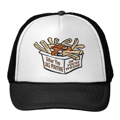 funny comfort food apparel trucker hats