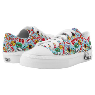 Funny Comic Pattern Low-Top Sneakers