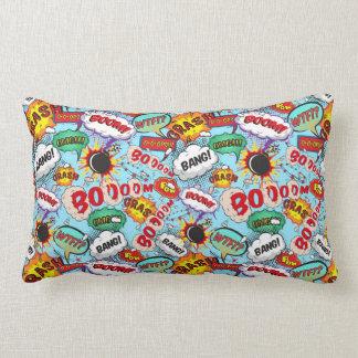 Funny Comic Pattern Lumbar Pillow