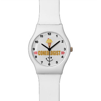 Funny Coneologist Wristwatch