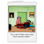 Funny Congratulations Becoming Grandparents Card