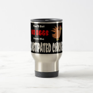 Funny Constipated Chicken Stainless Steel Travel Mug