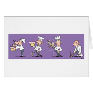 Funny Cook (Blank) Card