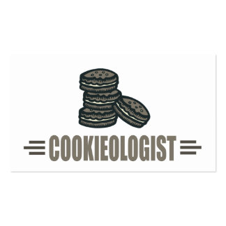 Funny Cookie Business Card Templates
