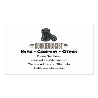 Funny Cookie Business Card Template