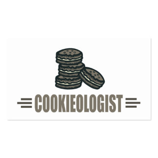 Funny Cookies Business Card Template