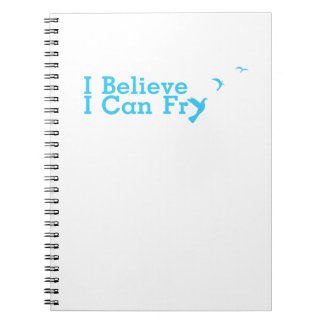 Funny Cooking Believe Can Fry Notebook