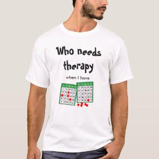 Funny Cool Bingo Lovers Player Gambling Guys T-Shirt