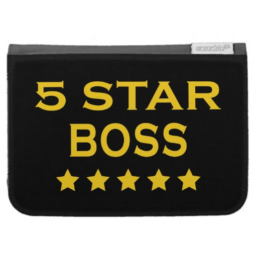 Funny Cool Bosses : Five Star Boss Cases For The Kindle