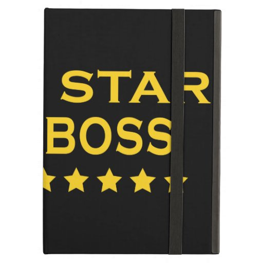 Funny Cool Bosses : Five Star Boss iPad Case