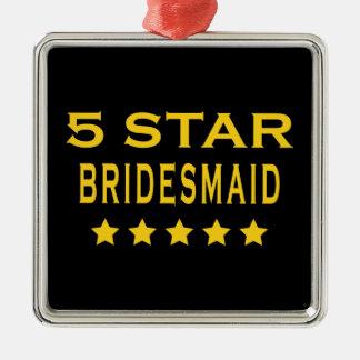 Funny Cool Bridesmaids : Five Star Bridesmaid Christmas Ornaments