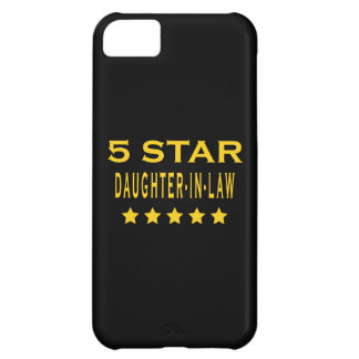 Funny Cool Gifts : Five Star Daughter in Law iPhone 5C Case