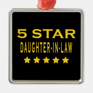 Funny Cool Gifts : Five Star Daughter in Law Christmas Ornaments