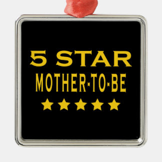 Funny Cool Gifts : Five Star Mother to Be Ornament