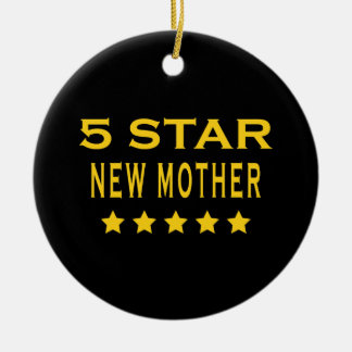 Funny Cool Gifts : Five Star New Mother Christmas Tree Ornament