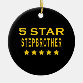 Funny Cool Gifts : Five Star Stepbrother Ornament