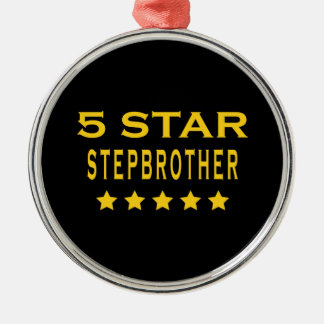 Funny Cool Gifts : Five Star Stepbrother Christmas Ornament