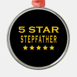 Funny Cool Gifts : Five Star Stepfather Ornament