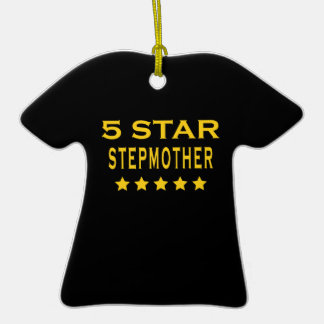 Funny Cool Gifts : Five Star Stepmother Christmas Ornament