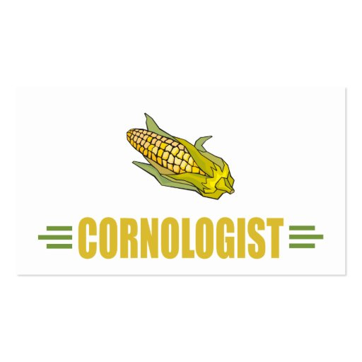 Funny Corn Business Card Templates