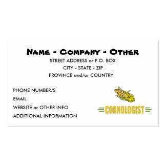 Funny Corn Pack Of Standard Business Cards