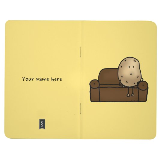 Funny couch potato journal