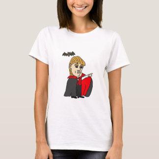 Funny Count Trumpula Trump Cartoon T-Shirt