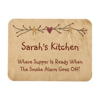 Funny Country Kitchen Magnet