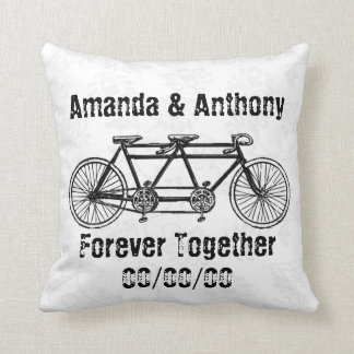 Funny couple custom cushion