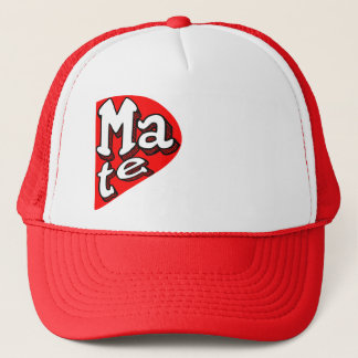 Funny couple matching hat, x2 ,Soul Mate Trucker Hat